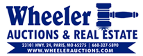 Wheeler Auctions & Real Estate, Paris, Missouri