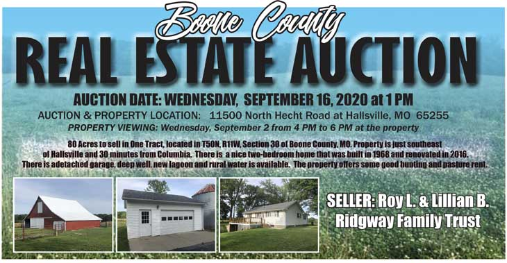 Wed, Sept 16th, 2020 – Boone County
