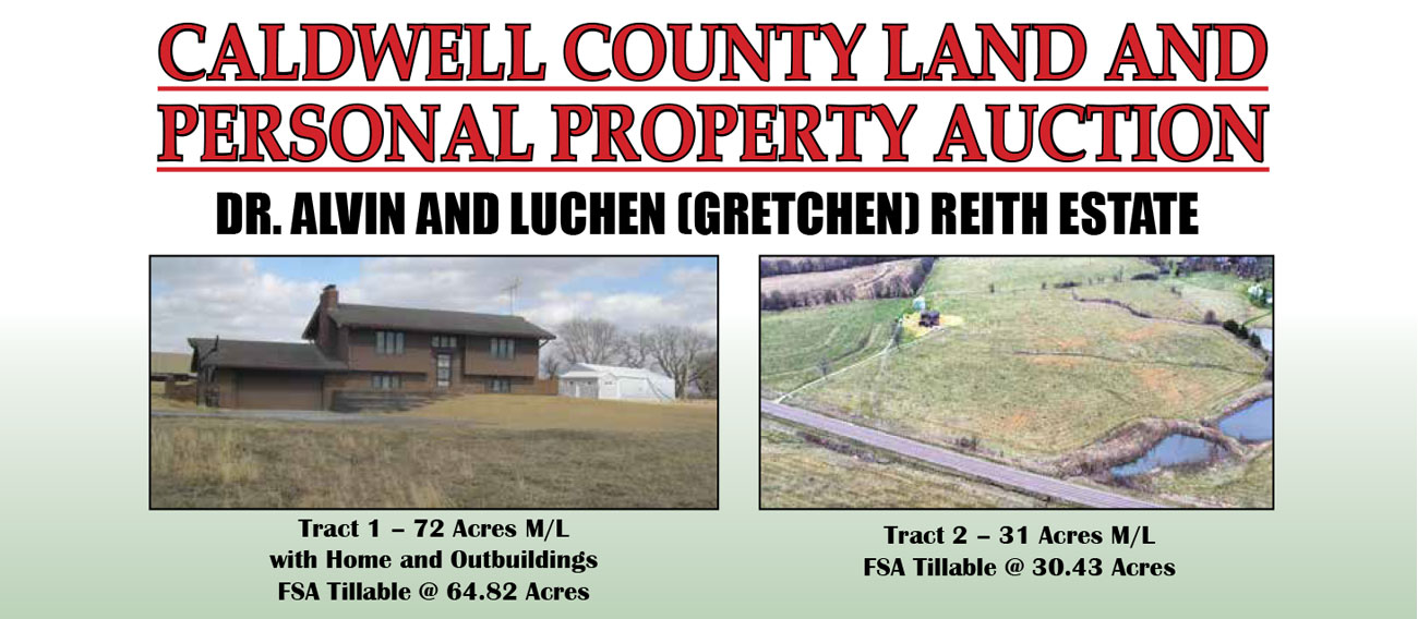 Caldwell County Land And Personal Property Auction