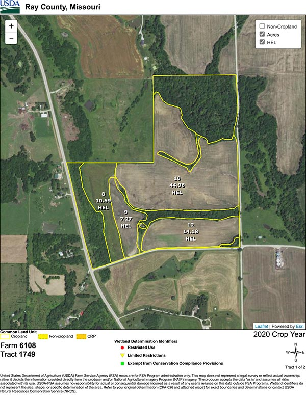 Ray County Land Auction