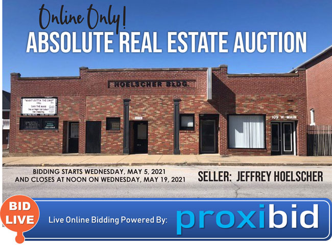 The Hoelscher Building – Real Estate Auction