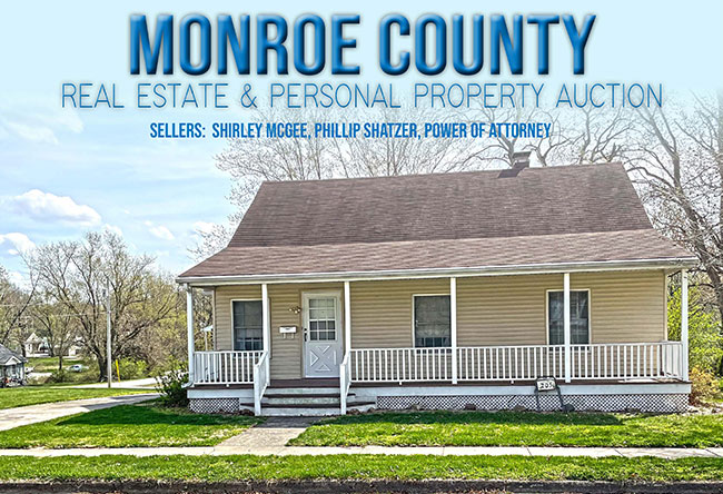 Monroe County Real Estate & Personal Property Auction