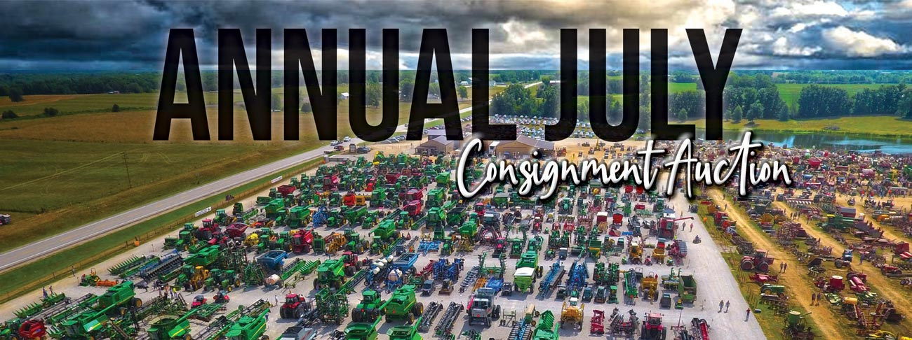 Annual July Consignment Auction