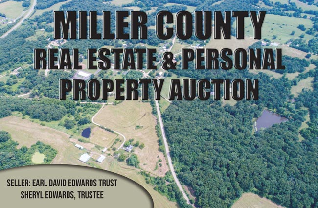 Miller County Real Estate & Personal Property Auction
