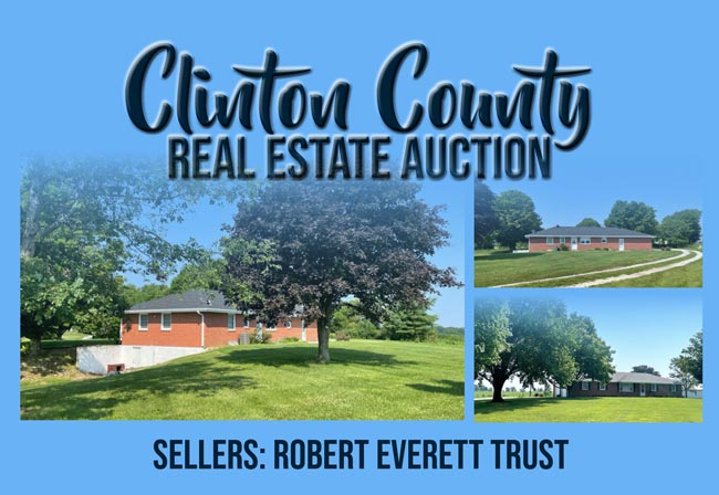 Clinton County Real Estate Auction