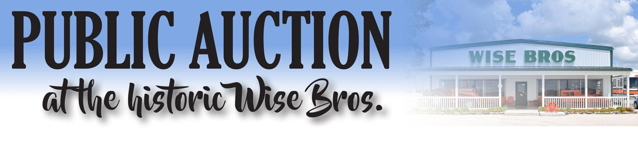 Public Auction at the History Wise Bros