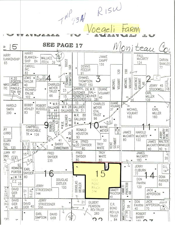 Miller & Moniteau Real Estate & Personal Property Auction