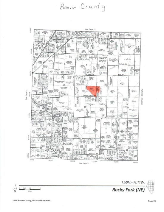 Boone County Real Estate Auction