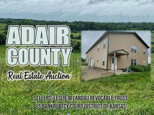 Adair County Real Estate Auction